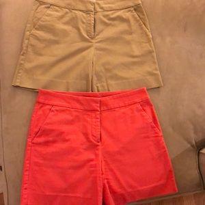 LOFT Shorts - 3 pairs of shorts, Ann Taylor Loft. Sz 4